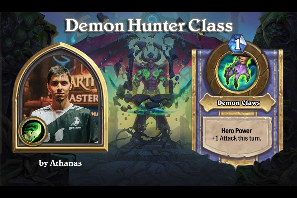 Hearthstone | Παρουσίαση & Ανάλυση του Demon Hunter Class | Athanas