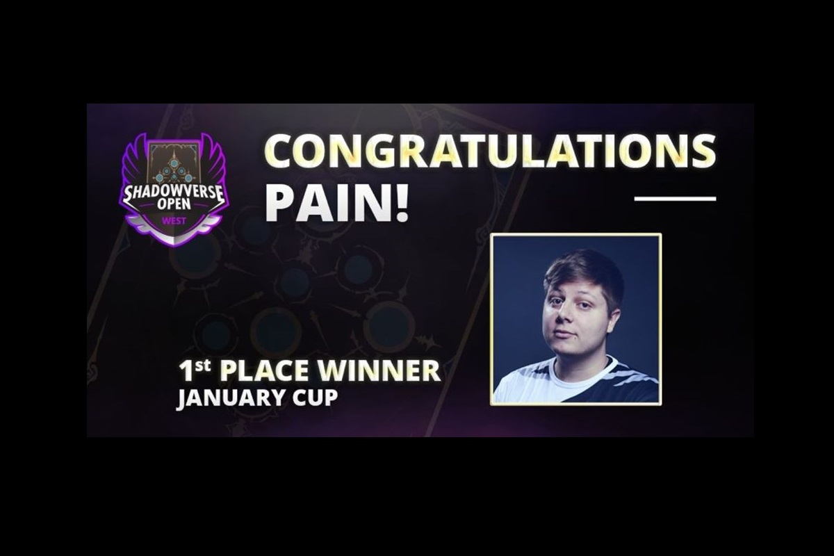"Shadowverse | Νικητής στο SVOW January Cup o Γιώργος ""Pain"" Καραπιπέρης!"