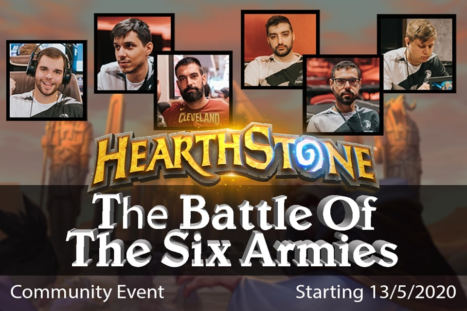 Hearthstone Community Event | The Battle of the Six Armies!