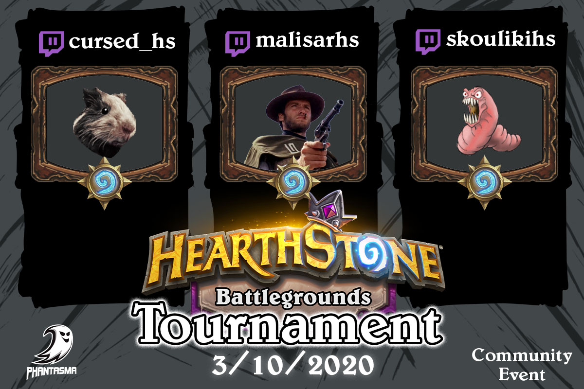 Community Event | Hearthstone: Battlegrounds Tournament!
