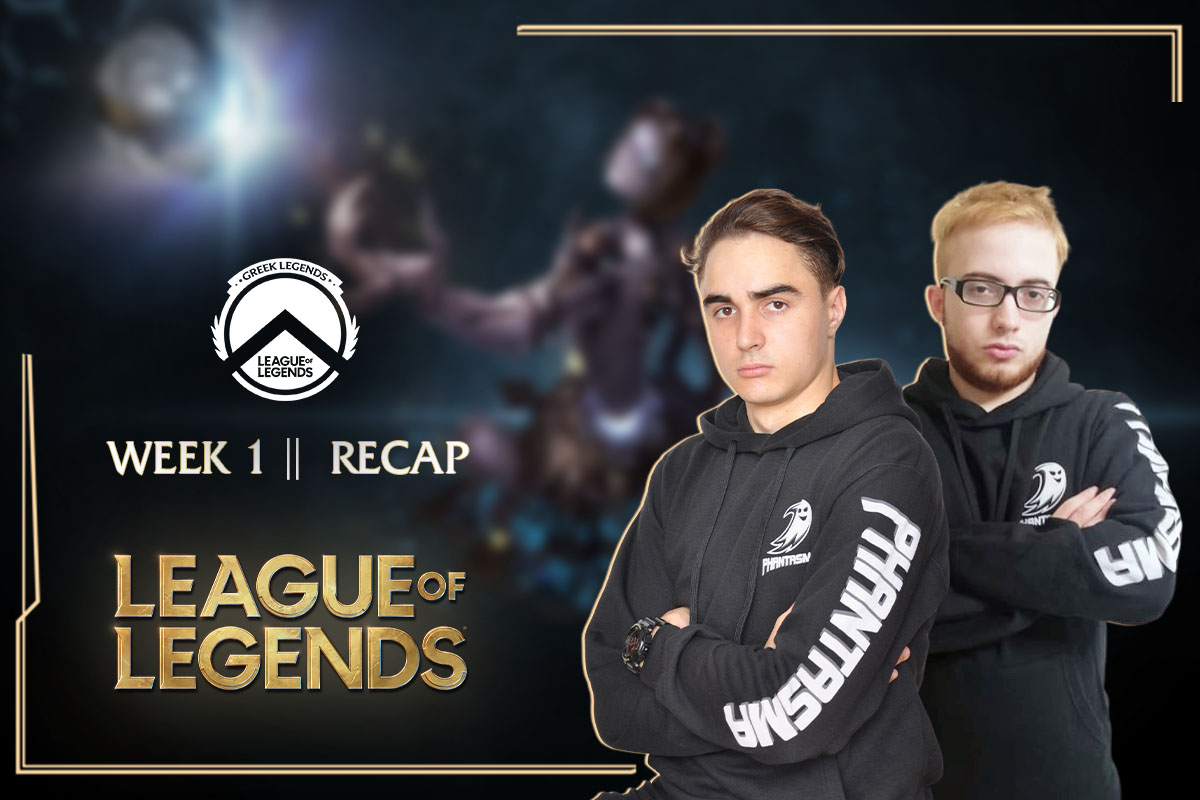Greek Legends | Week 1 – Recap | 2-0 για την Team Phantasma!