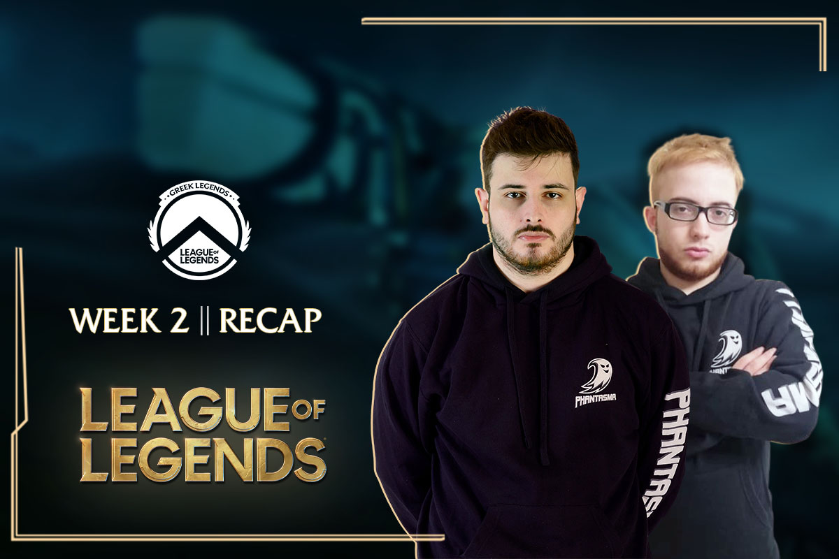 Greek Legends | Week 2 – Recap | 3-1 για την Team Phantasma!