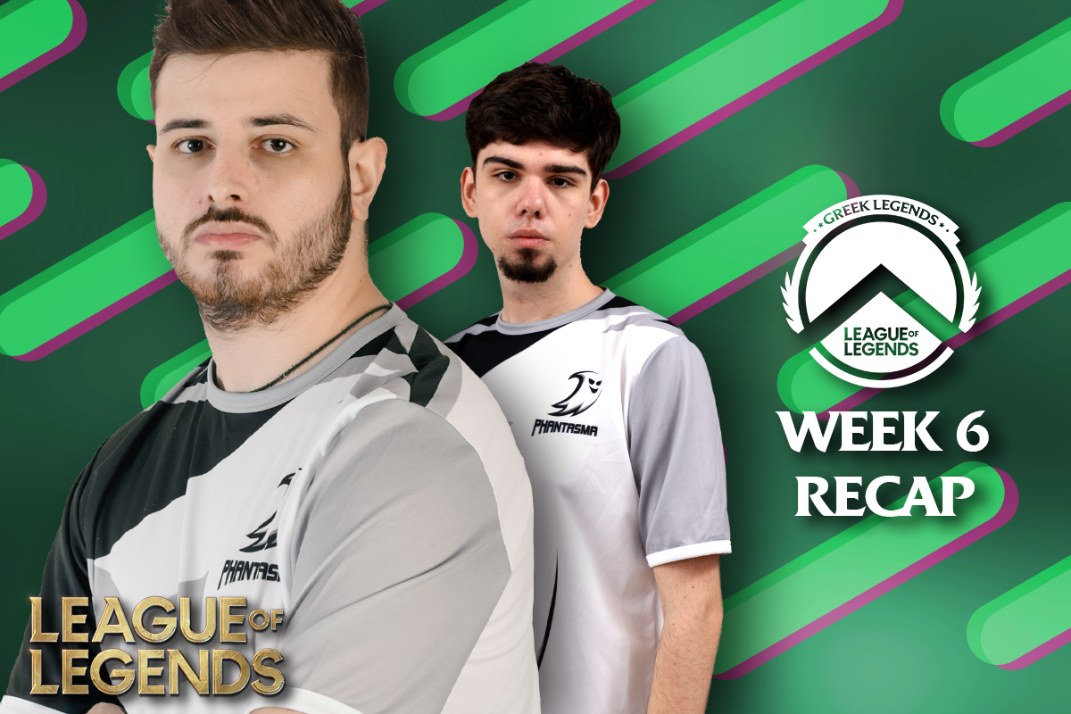 Greek Legends | Week 6 – Recap | 11-3 για την Team Phantasma & τέλος Regular Season – Winter Split!