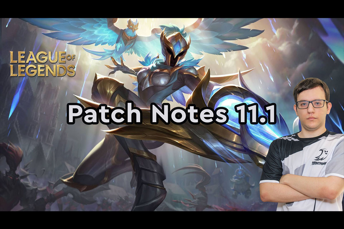 League Of Legends | Review: Patch Notes 11.1 | Coach Nikolex
