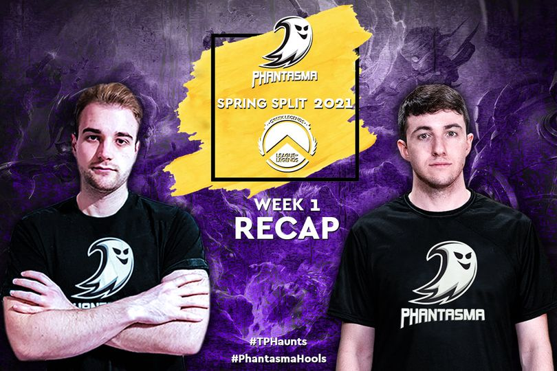 Greek Legends | Week 1 – Recap | 1-1 για την Team Phantasma!