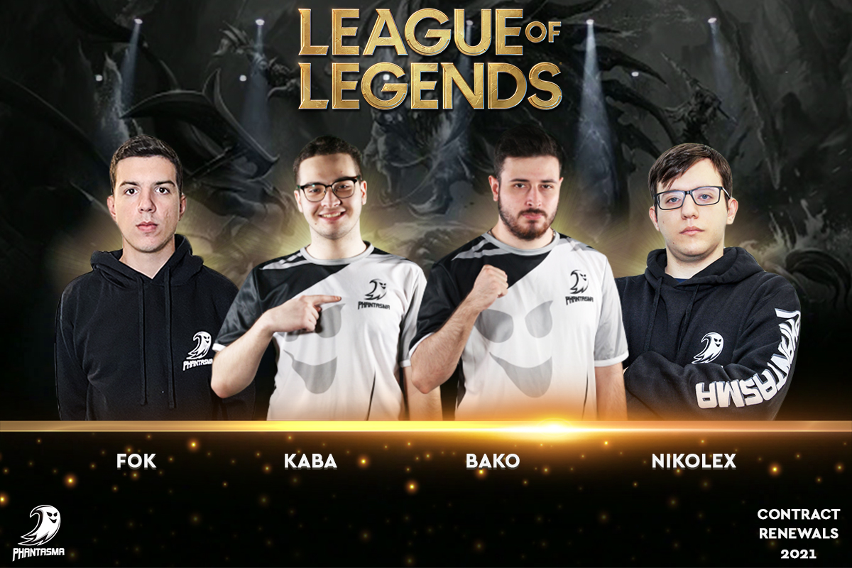 League of Legends | 2021 Contract Renewals
