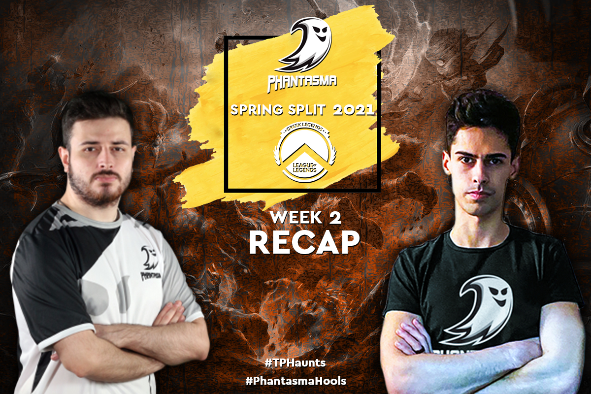 Greek Legends | Week 2 – Recap | 2-3 για την Team Phantasma.
