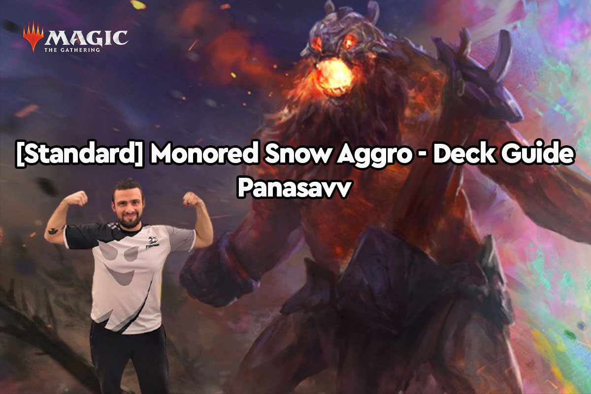 Magic: The Gathering | [Standard] Mono-Red Snow Aggro – Deck Guide | Panasavv