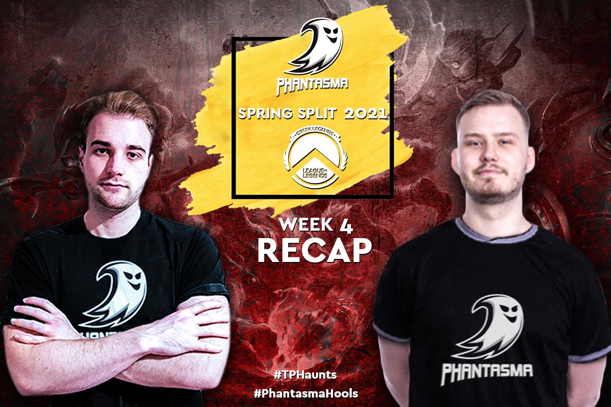 Greek Legends | Week 4 – Recap | 4-5 για την Team Phantasma με πνεύμα αισιοδοξίας!