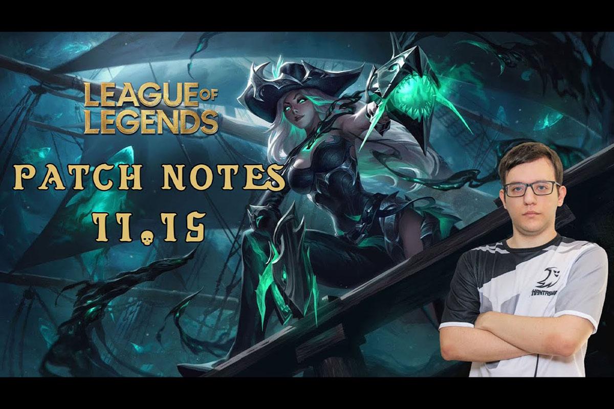 League of Legends | Patch Notes 11.15 | Nikolex