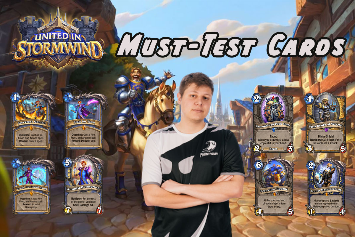 Hearthstone | United in Stormwind Must-Test Cards | Pain